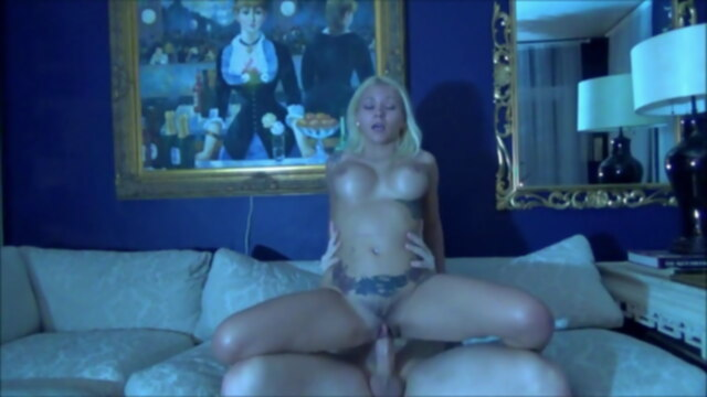 Brother &.. blonde blowjob cumshot