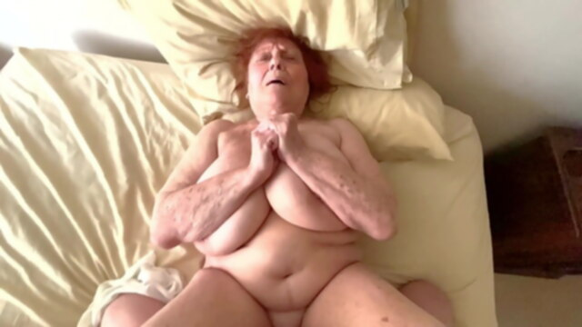 Naughty Granny.. amateur bbw mature