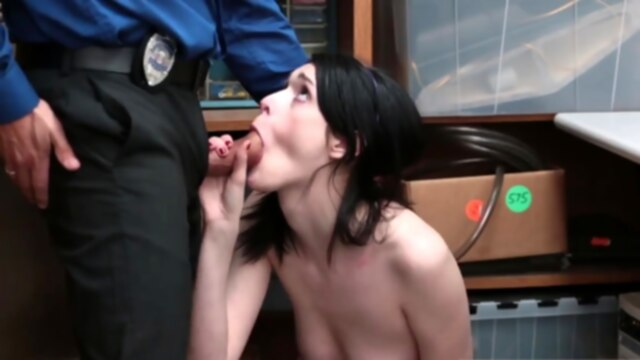Office female.. blowjob brunette hd
